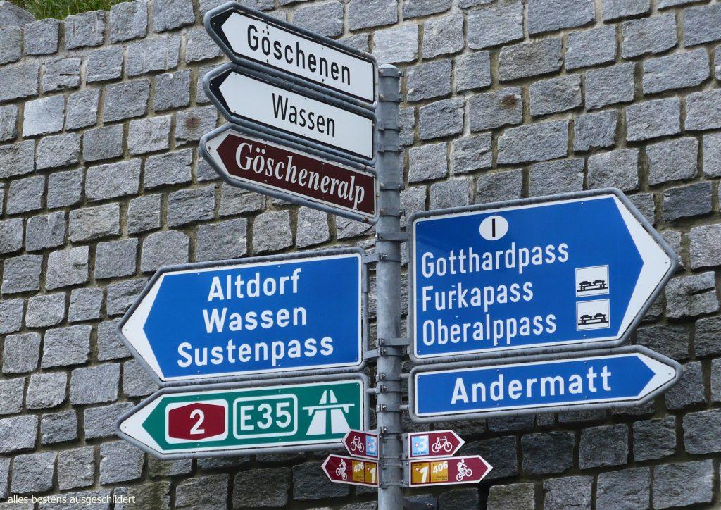 31.08.-03.09.2013 a-werk Guide on tour über den Gotthardpass …