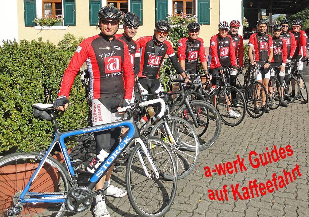 19.09.2015 a-werk Guides auf Kaffeefahrt