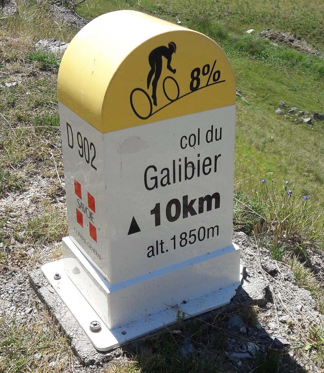 Nächstes Etappenziel Col du Galibier