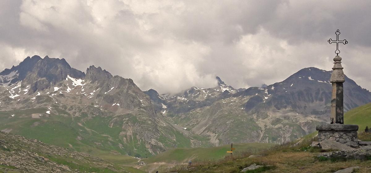 2. Etappenziel am ersten Tag war der Col de la Croix de Fer